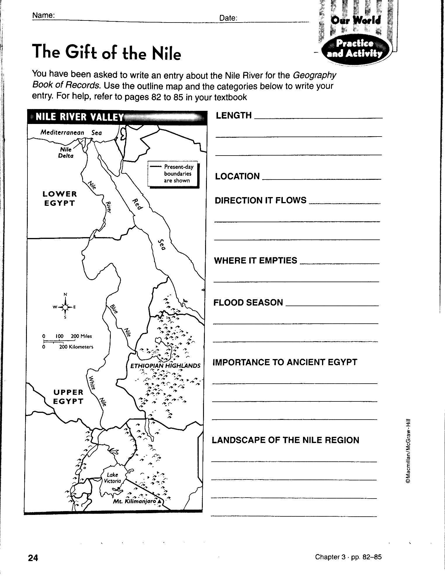 Worksheet 6th Grade Social Stu S Worksheets Three