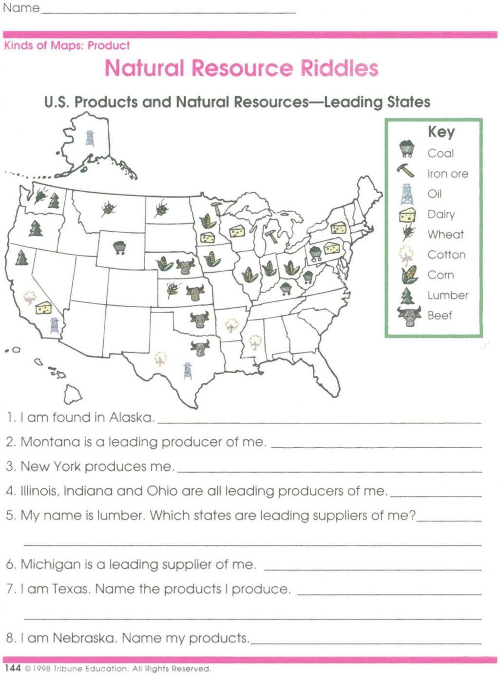 Worksheet Ideas Reading Maps Handout 2 Social Stu S