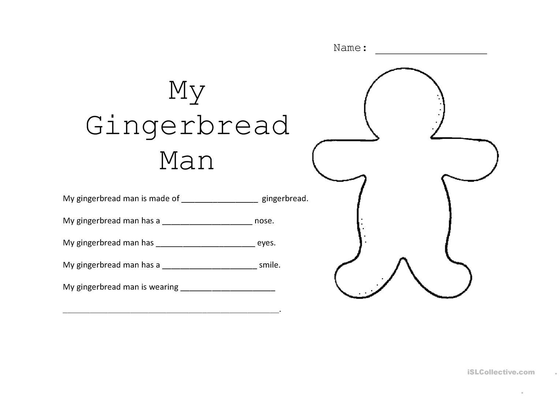 Worksheet Rebt Worksheet Gingerbread Man Worksheets
