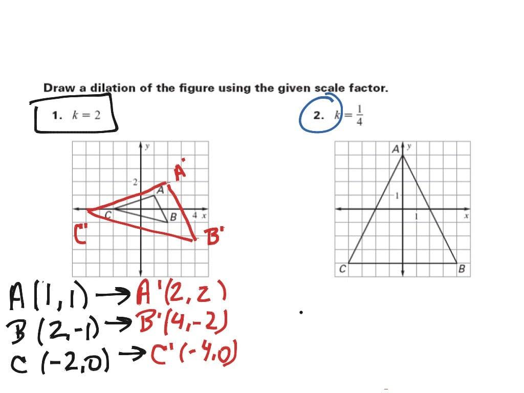 Worksheet Scale Factor Worksheet Mathworksheetsland Scale