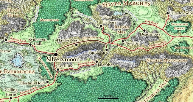 Silver Marches | 5th Age Campaigns' home rules | Obsidian Portal