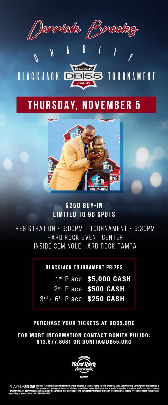 db blackjack tournament