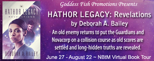 Hathor Legacy: Revelations Virtual Book Tour