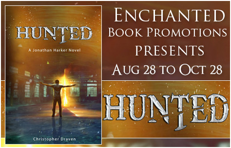Hunted Book Tour Banner