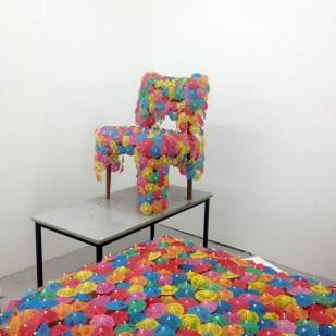 chair across the landscape