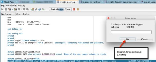 Logger Default TS Screen Shot