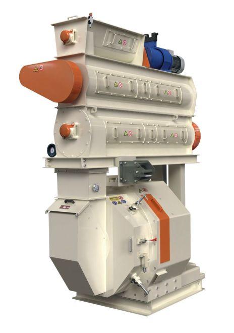 pellet mill double conditioner