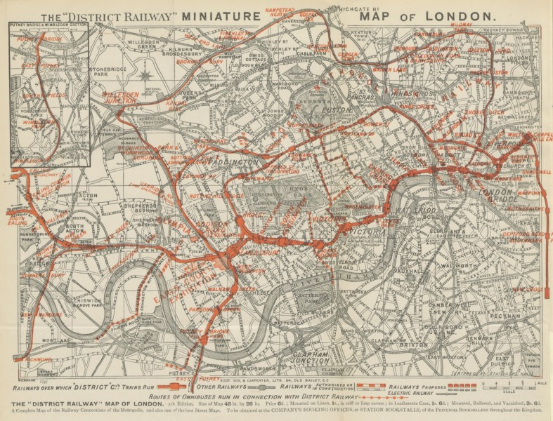 The Future Mapping Company   The Tube Map In 1908  the first Underground branded map