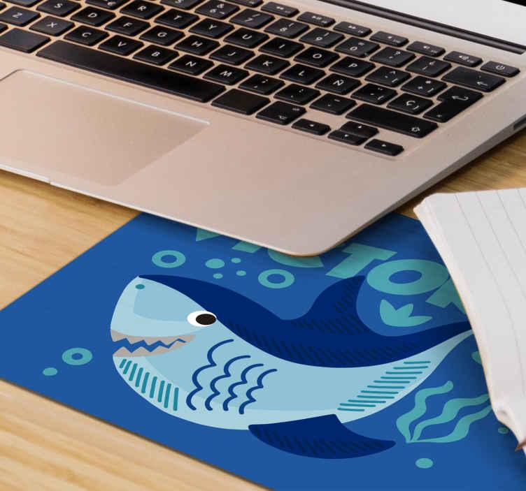tapis de souris personnalise avec petit requin
