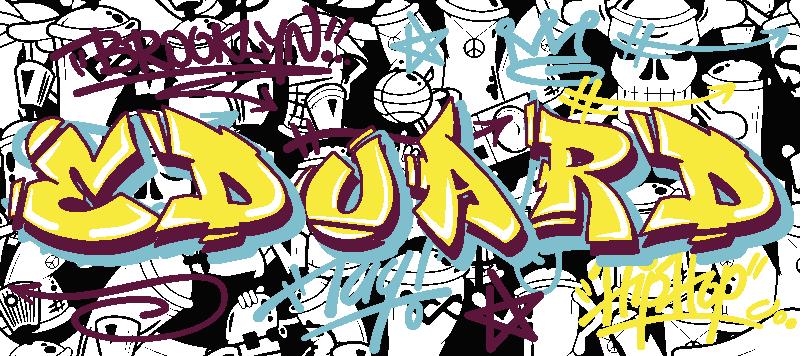 tapis de souris pour gamer graffiti personnalisable