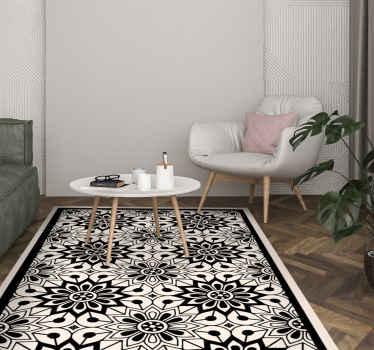 tapis vinyle salon pour une deco maison