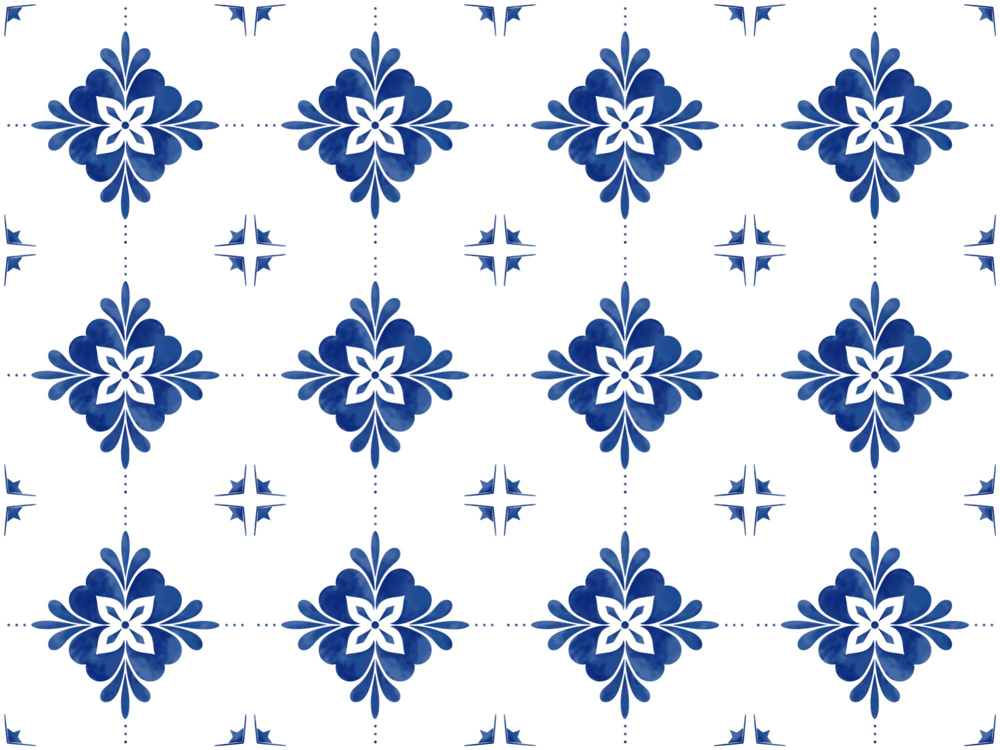 tapis vinyl carreaux de ciment carrelage blanc et bleu sarcelle