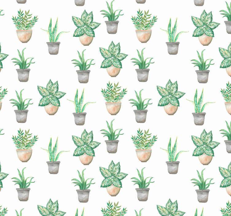 Private Garden Kitchen Wallpaper Tenstickers