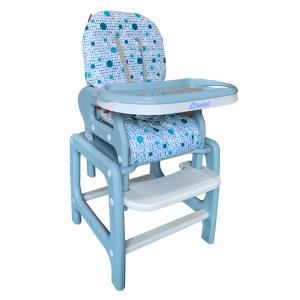 silla alta multiconfort azul