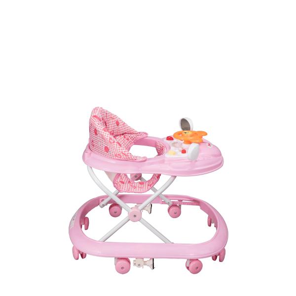 Dbebe Andadera de alturas Picola rosa