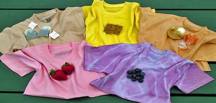 Dogal Malzemelerle Istediginiz Renkte Kumas Boyama Yapin
