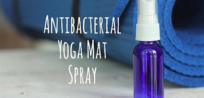 Antibakteriyel Yoga Mat Spreyi Yapın