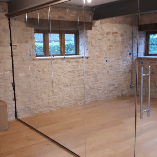 Bespoke Glass Door and Partition