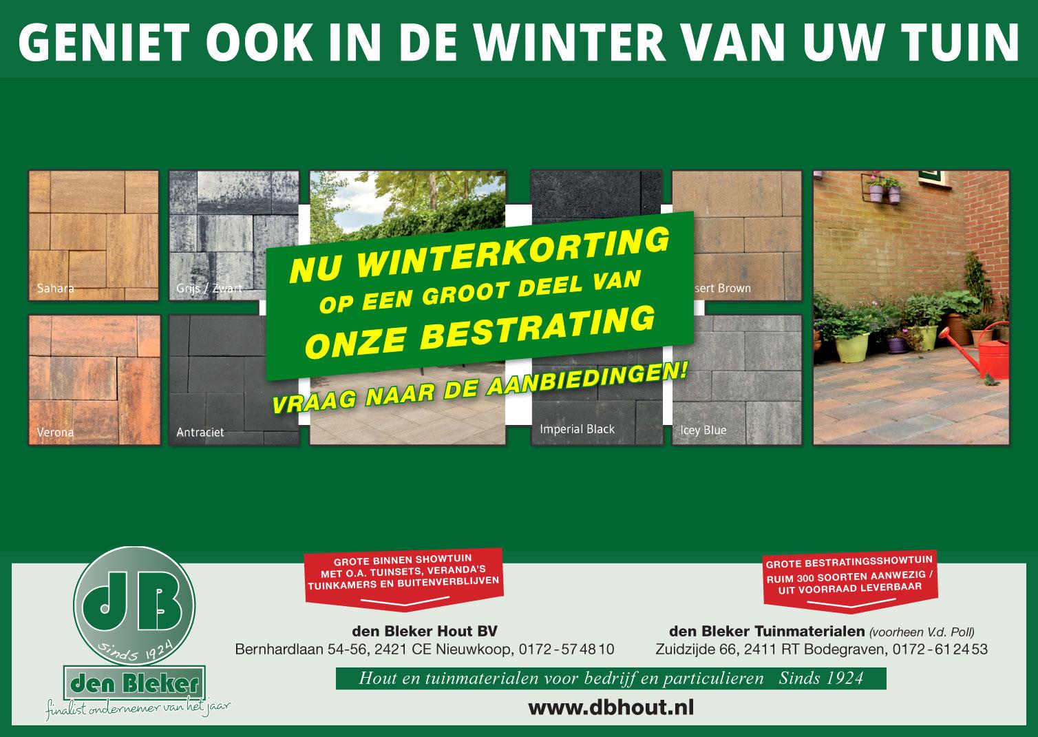 Wintervoordeel bij dB Hout – Bestrating