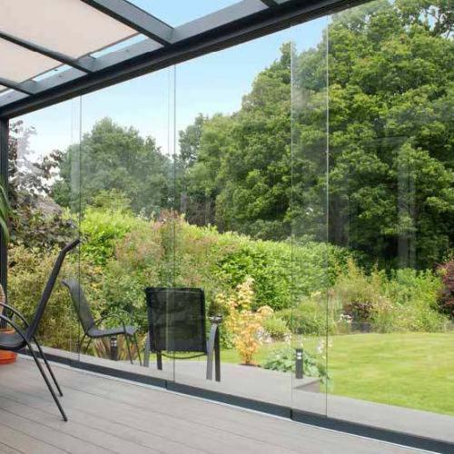 Glasschuifwand-systeem