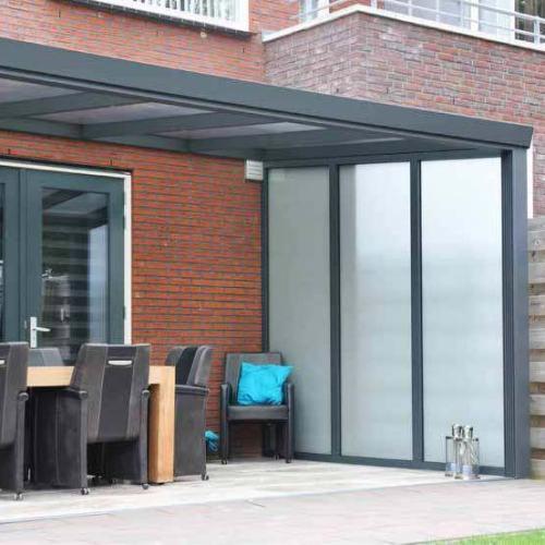Zijwand-polycarbonaat-veranda