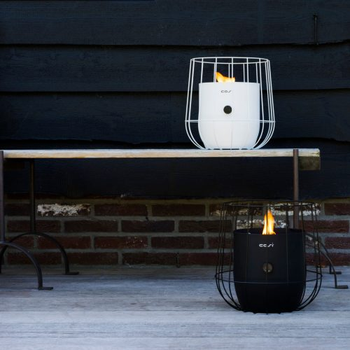 5801120 - 5801130 - Cosiscoop Basket - white & black - 2019