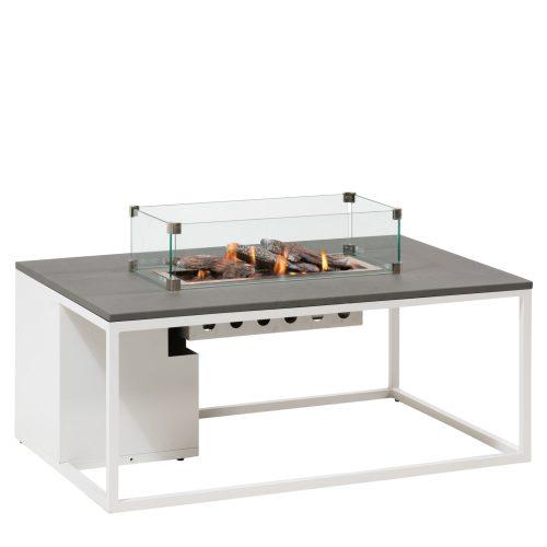 5958780 - Cosiloft 120 lounge table white-grey - glass - side