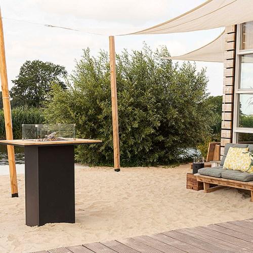 5980110 - Cosiloft 100 bar table - black-teak 8x6