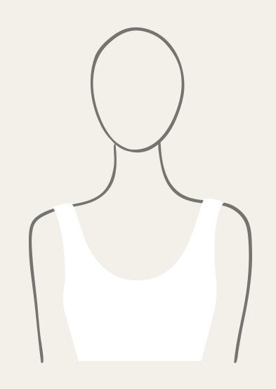 Illustration of the scoop neck.