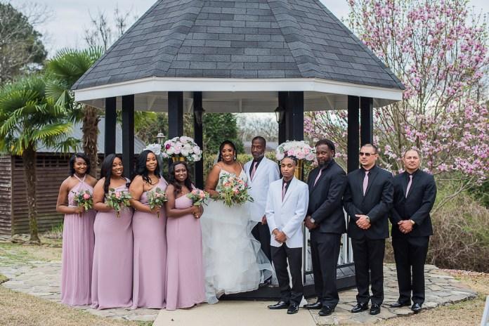 Outdoor fairytale wedding bridal shower