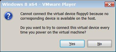 Floppy lives in VM memory