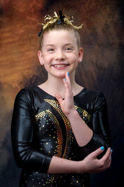 Carly Gymnastics 3/30/2020 Head And Shoulders