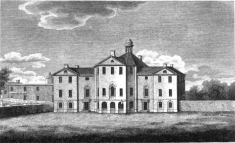 Drawing of old Court House
