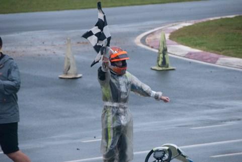 Will Robusto of Fort Mill, SC, won the Future Stars race. (David Boraks photo)