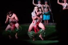 MAUI - Luau dancers at the Te Au Moana Luau