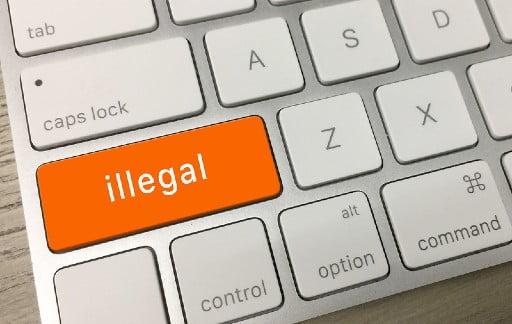 ネットカジノは違法サイトが多い?