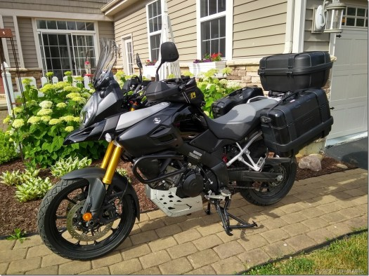 2014 DL1000 with Givi Trekkers