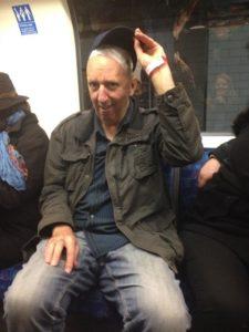 Flashing my dressings on the tube