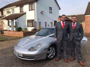 Wedding Porsche