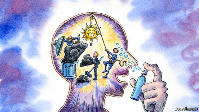 Sniffing at a new solution Novel drugs for depression, The Economist