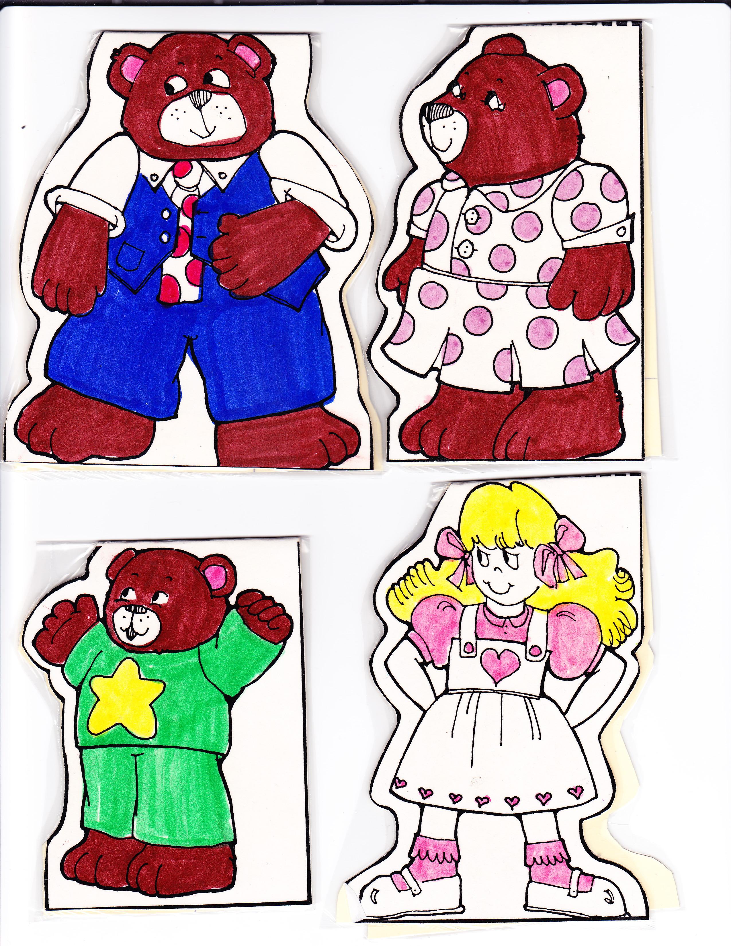 Retelling The Three Bears