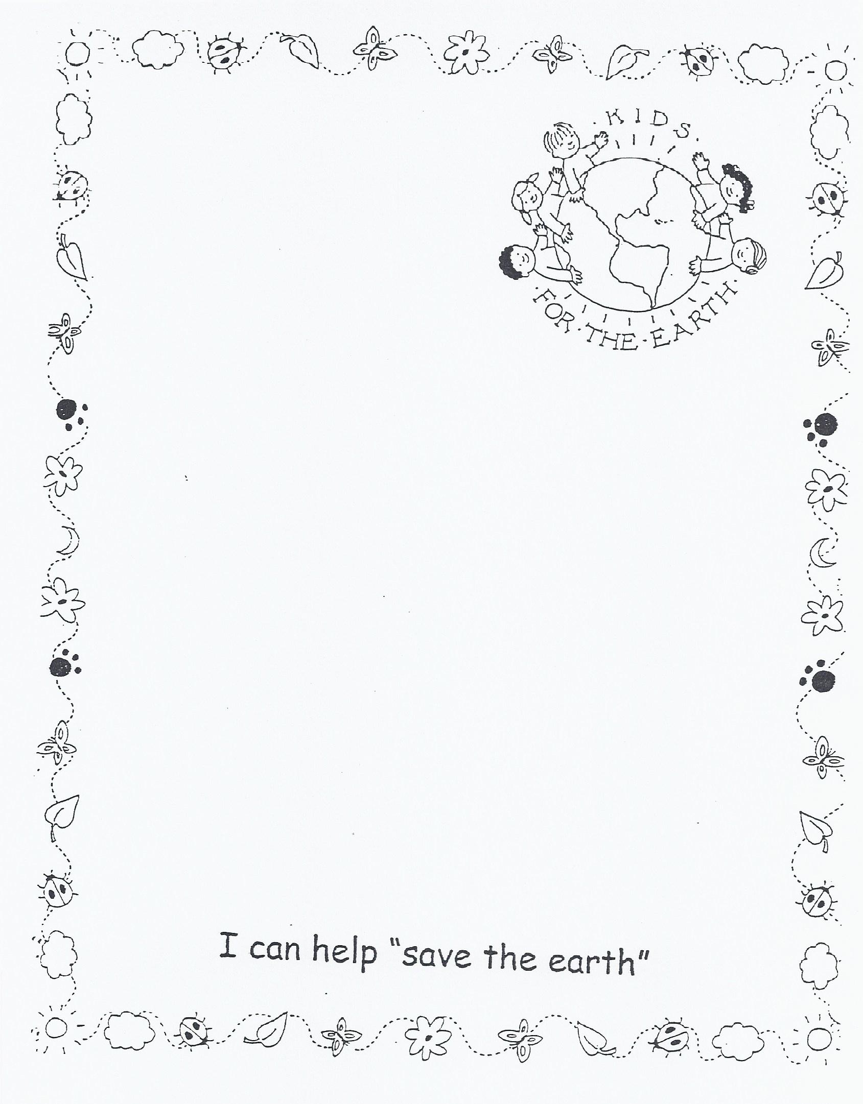 Recycling Worksheet For Kindergarten