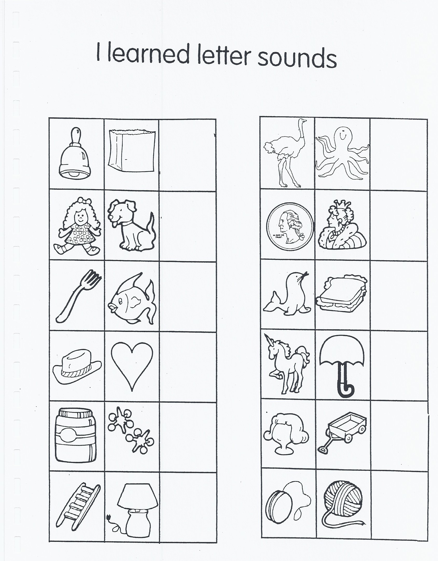 Letter Sounds Assessment And Letters
