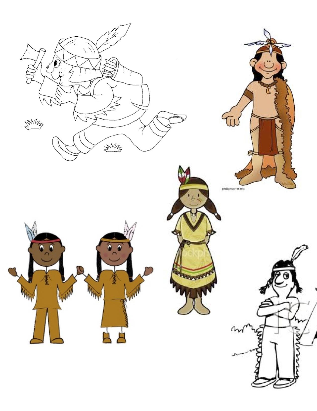 Native Americans Worksheet Kindergarten