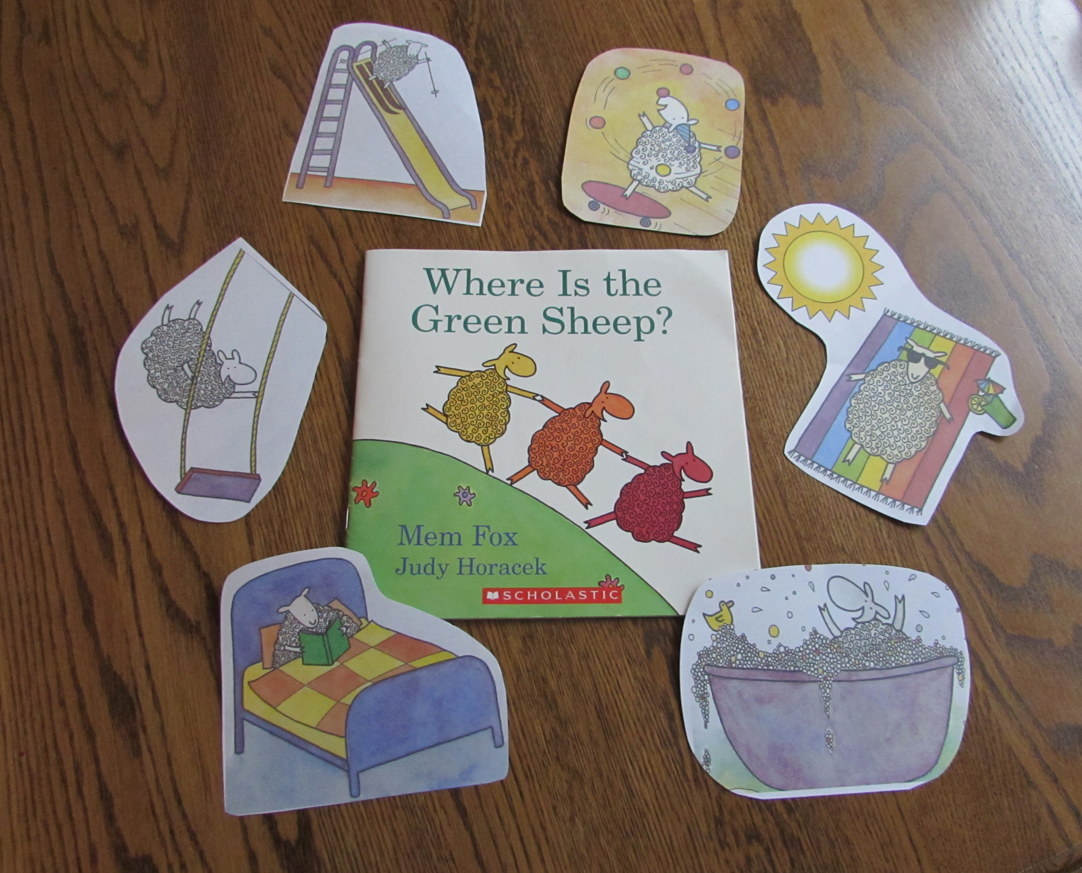 Storytime Activity For Where Is The Green Sheep By Mem Fox