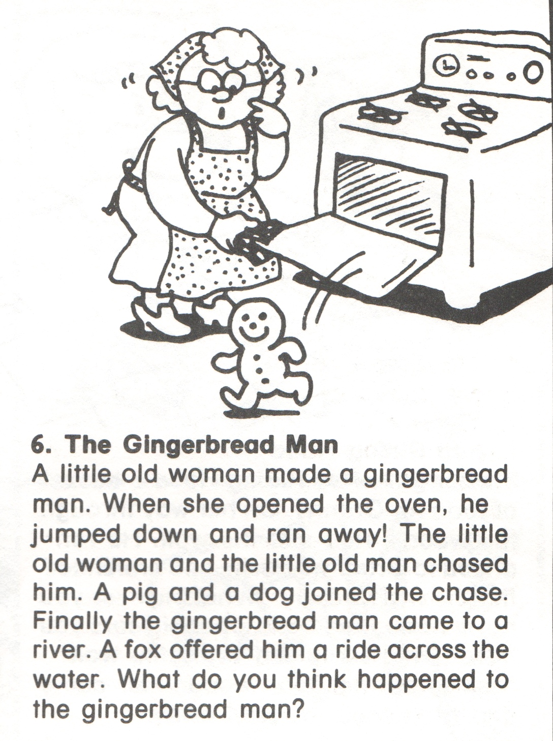 6 Gingerbread Story