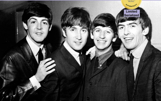 """This certifies that this 7"""" record: - The Beatles - Sie Liebt Dich (She Loves You) b/w I'll Get You (DBS 005)"""