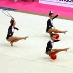 Conjunto Alevín. 3 Pelotas y 2 Cuerdas (C.G.R. Polideportivo Cádiz)