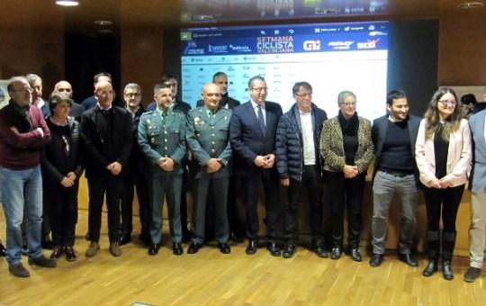 Presentación II Semana Ciclista Valenciana