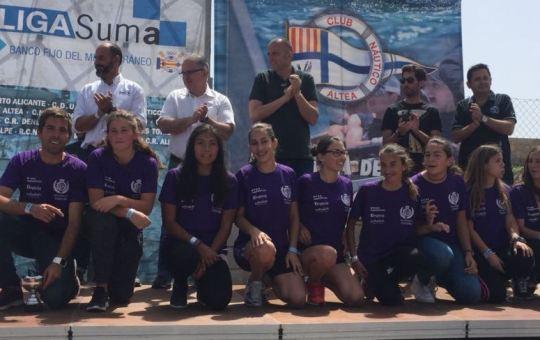 Campeonas Liga Suma Remo en Banco Fijo.